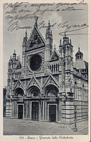 Duomo postcard early 1900's
