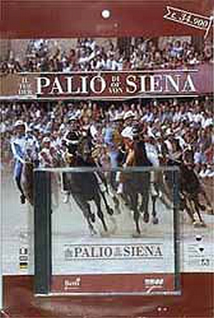 ILPALIO DI SIENA</b> - PERCORSO MULTIMEDIALE SU CD-ROM